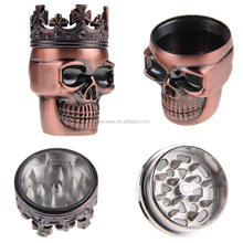 Source cheap and high quality products the best selection of skull herb grinder for sale