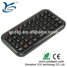 NEW HOT SELL 2012 Fashionable Mini cheap bluetooth keyboard for ipad