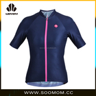Women Pro high quality elastic soft custom made bicycle clothing