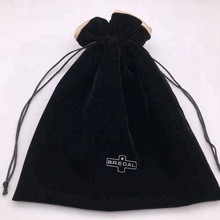 Large Velvet Drawstring Dust <strong>Bag</strong> With Satin Lining