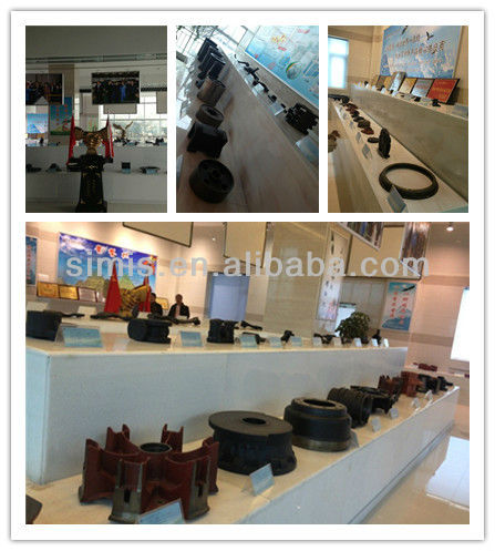 China customized sand casting products for construction machinery