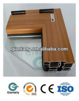 aluminum laminate profile for window & door frames