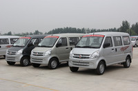 Hot Sale 8 Seats Mini Passenger Van With Euro4 Petrol Engine Popular in South America
