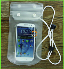 thicken PVC phone case oem simple design waterproof mobile bag