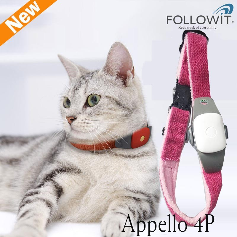 Pet Product Pet Collar for Dogs Cats Light and Small Tracking on APP Android iOS GPS Tracker