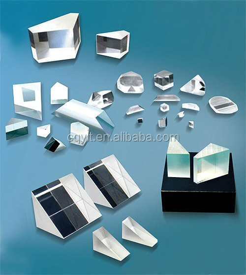 N-BK7 H-K9L Fused Silica 45 Degree Right Angle Prism