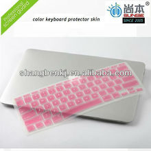 laptop cover protector/color keyboard protector for macbook air/keyboard skin proector for samsung