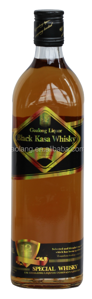 Goalong brand black Kasa, China wholesale cheap whisky, liquor hot sale