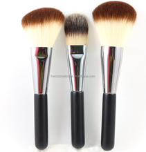 3pcs large makeup powder brush and foundation brush set