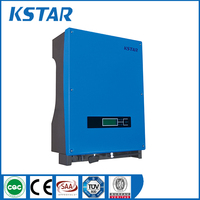CE approved 5000w 220Vac 1 phase solar inverter on grid with mppt controller for home solar power system