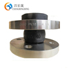 stainless steel expansion joint single sphere connector with floating flanges