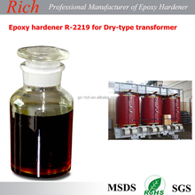 Epoxy hardener R-2219 for Dry-type transformer with low exothermic temperature and good electrical resistivity