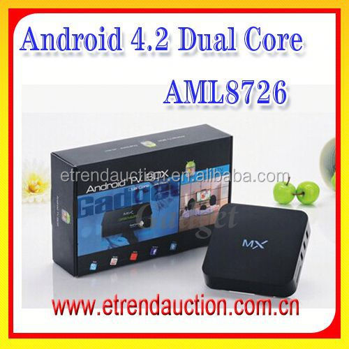 2015 New Dual Core Android TV Box MX Amlogic8726-MX run XBMC/KODI watch free hd live TV Android 4.2 MINI MX Set Top Box