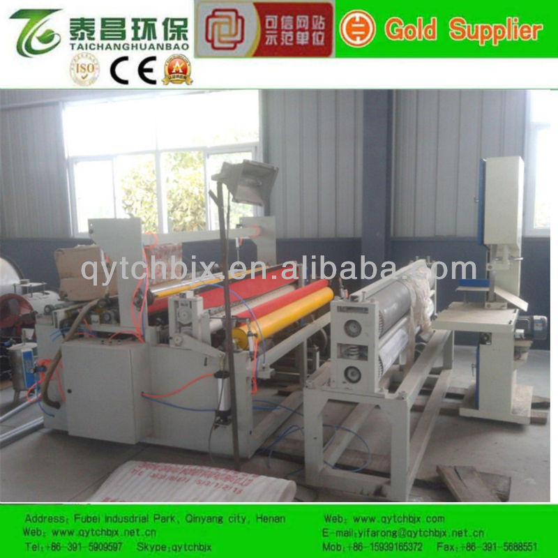 Automatic Rewinding and Perforatingand Embossing Machine