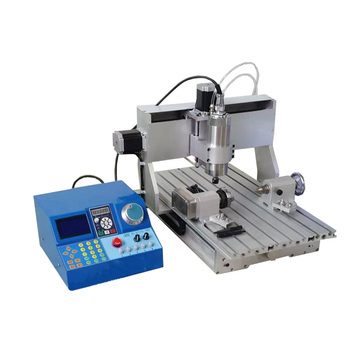 DIY 3040 4 Axis CNC Router for Cylinder Engraving