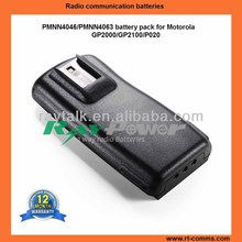 Portable two way radio battery pack PMNN4046 replacements for Motorola GP2000 radio