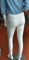2014 fashion super stretch legging cotton fabric