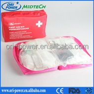 OP wholesale DIN13164 FDA CE ISO approved oem professional waterproof emergency car auto first aid kit