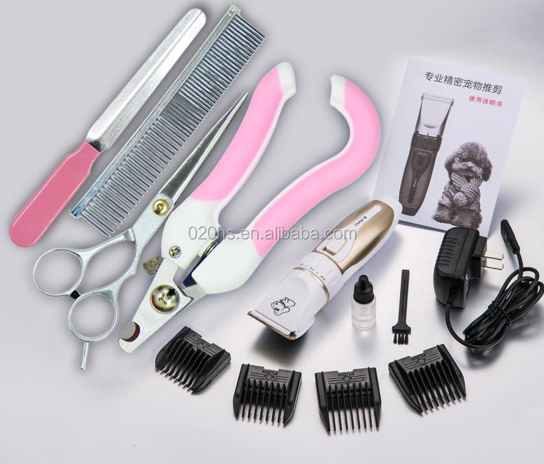 Electric pet cleaning grooming product animal hair clipper for cat dog