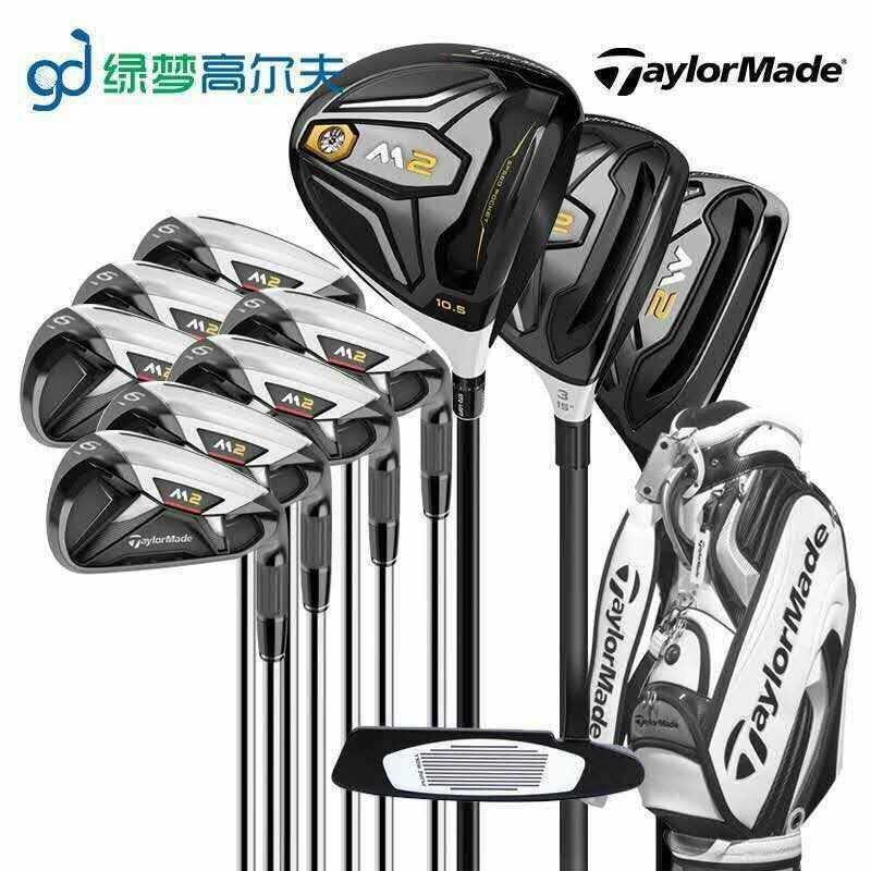 Golf club set driver+ fairway wood+iron+putter Golf Graphite shaft wood headcover