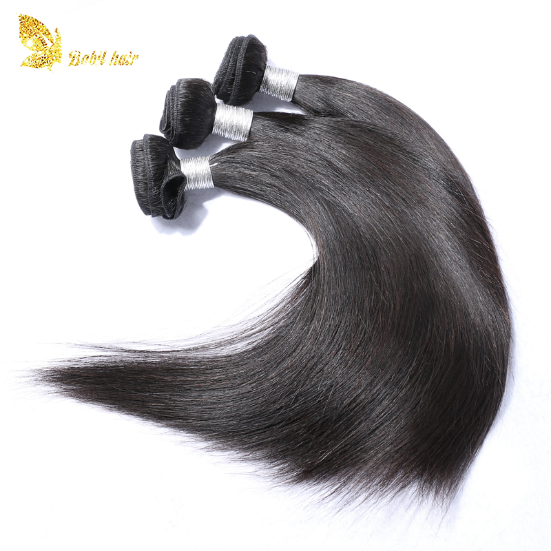 Factory price silk straight unprocessed virgin brazilian hair wholesale hair weave
