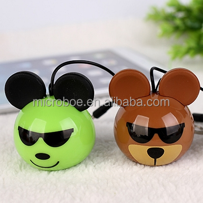Car Toy Mini Portable Speaker for Mobiles / MP3 / MP4 Players