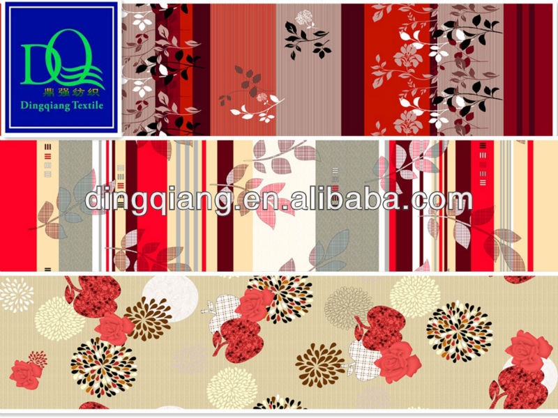 microfiber brushed upholstery fabric printing for home textile