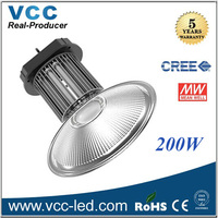 50w 70w 160w 180w led high bay light cree meanwell driver
