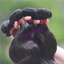 Ideal hair Best selling 5A peruvian virgin remy hair weave