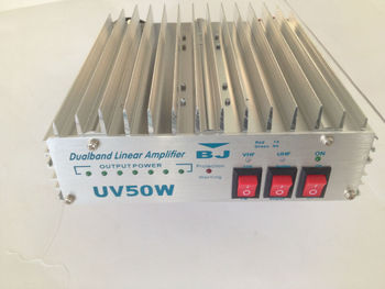 vhf/uhf power amplifier BJ-UV50W with long distance talking made in China baojie