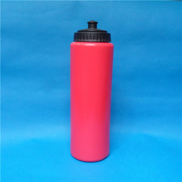 1L chin rest cap design sports drink bottle