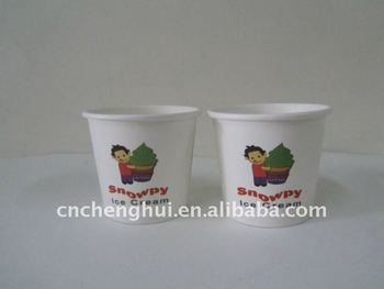 4oz high quality ice cream paper cup