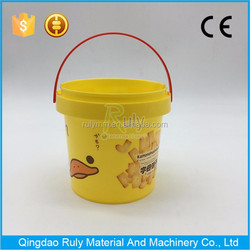 Food grade packing bucket 2L plastic bucket