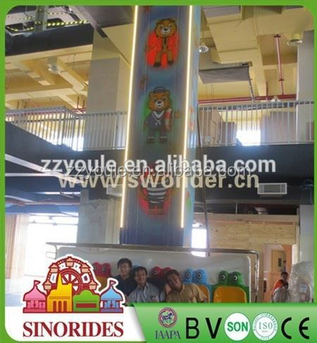 Hot attractive indoor park rides wholesale amusement jumping frog fairground ride