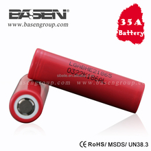 Best 18650 battery for vaping lg 2500mah he2 35a 18650 battery lg he2/he4/hg2 18650 battery