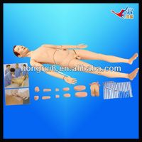 ISO Basic Combination Nursing Manikin, Patient Care Manikin,patient care model