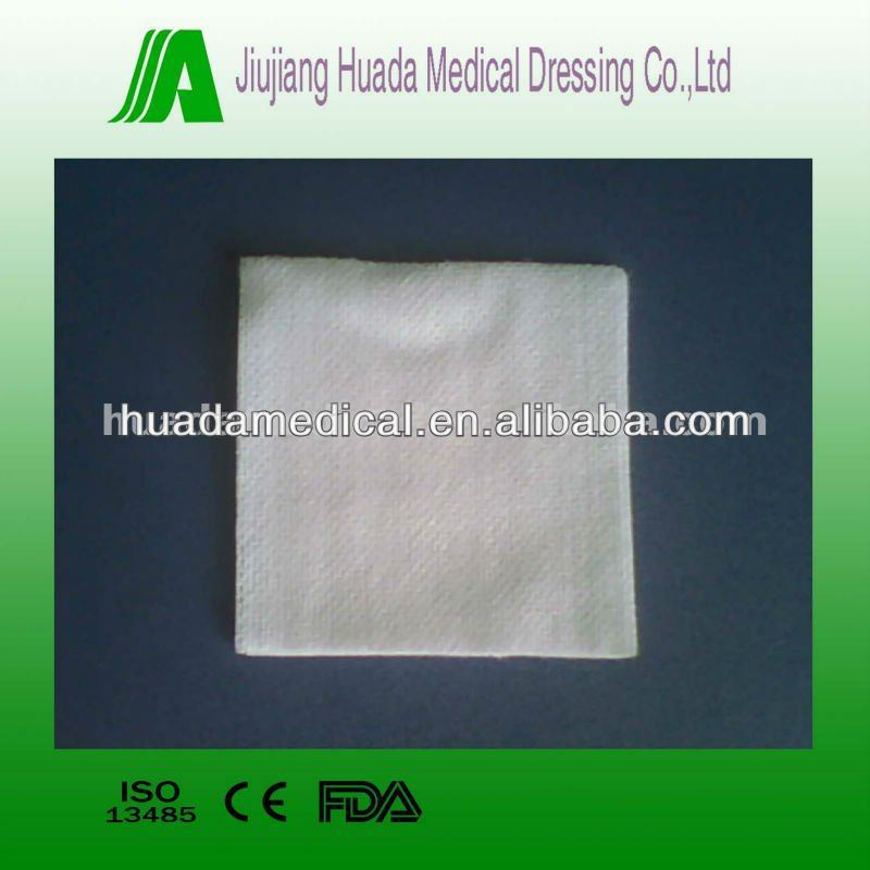 Sterile medical dressing non woven swabs pads non woven sponges