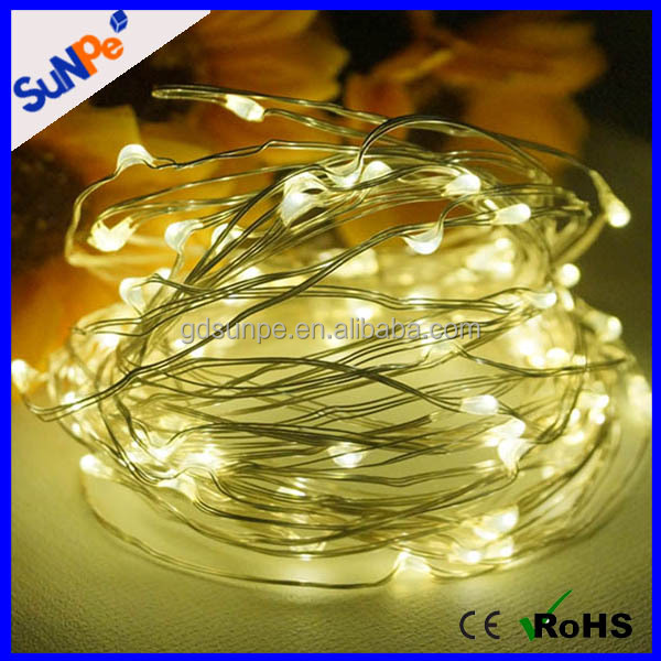 150 LED Christmas tree decorations diwali lights copper solar micro LED string lights for wedding household