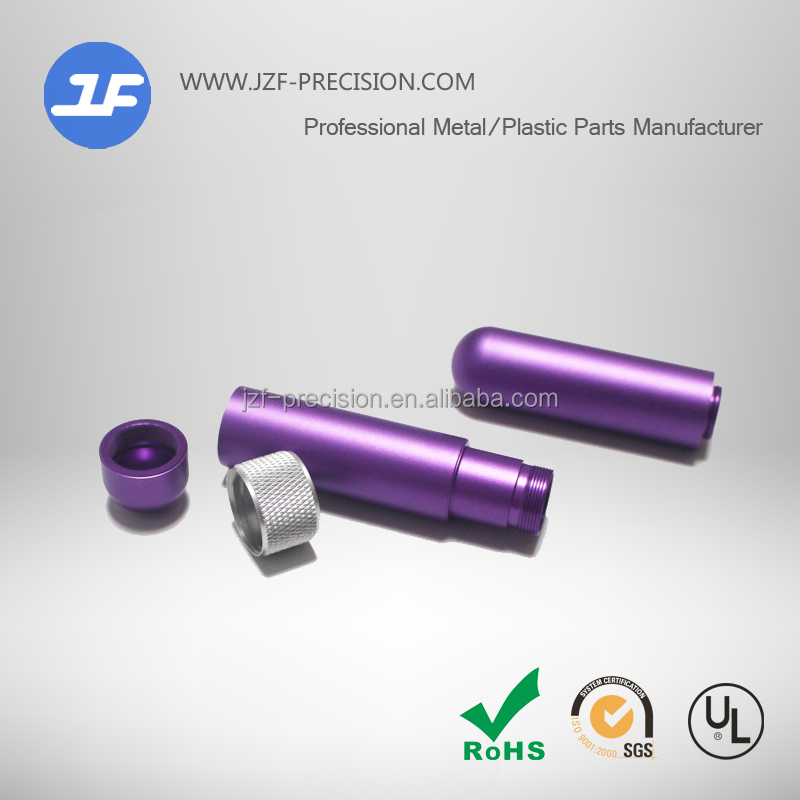 Custom Cnc Machining metal parts sample making for electronics cigarette parts