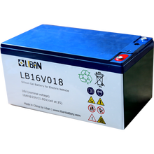 16V 18AH cheap Electric Car Battery
