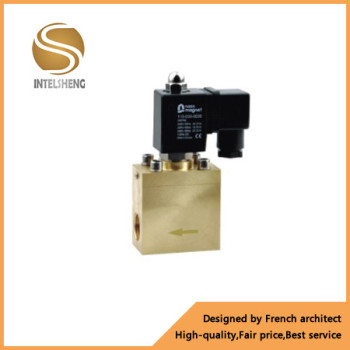 Factory direct 60 bar high pressure electric actuator valve 1 inch brass solenoid valve