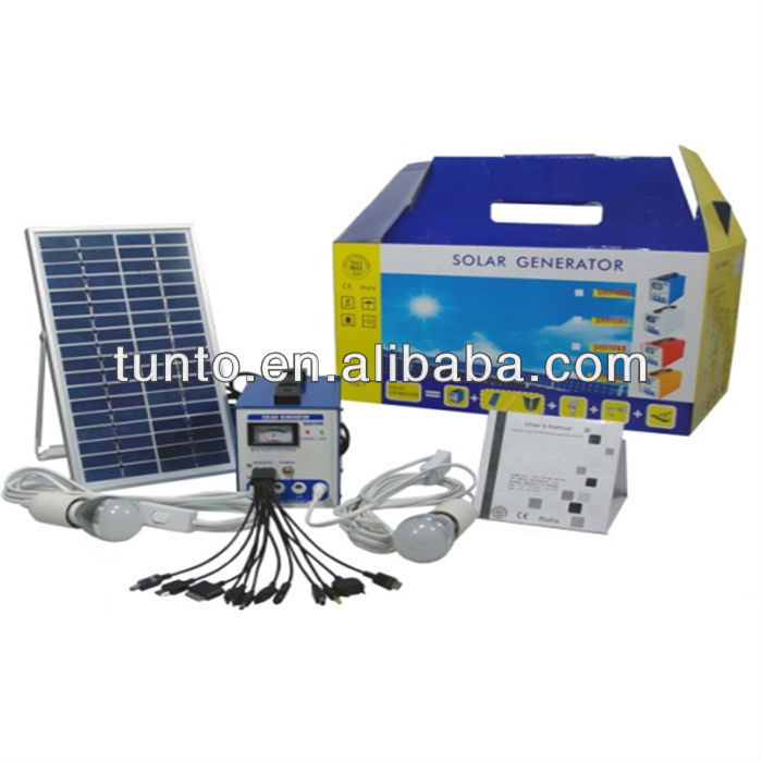 12V 6W 4Ah mini size solar panel <strong>system</strong> for residential or travel use