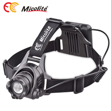 Ultra Bright Zoomable LED Headlamp Flashlight - 3 Light-Modes, Perfect Hands-Free Portable Work light battery powered