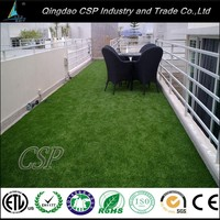 Natural field green artificial grass mat/artificial grass for green recreation/synthetic grass for garden