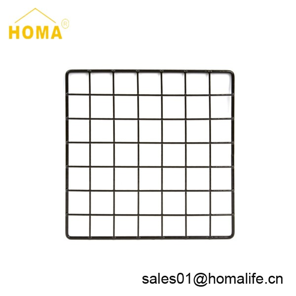 Home storage metal wire grid storage cube