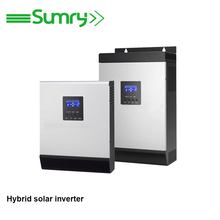Inbuilt 50A PWM solar controller dc to ac pure sine wave power inverter 1kva to 5kva for cheap sale