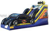 custom slip n slide inflatable,inflatable car slide for kids and adults M4037