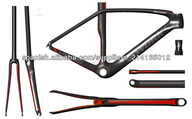 2013 newest design and fashional paint 1050g weight carbon frame s works venge for sale