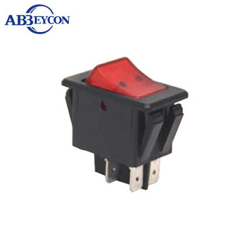 AS25 CE IBA-17-201N ON-OFF/ ON-ON DPDT 4P/6P 20A 125VDC 15A 250VAC rocker switch