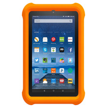 KID PROOF FDA silicone rubber bumper case for Amazon kindle fire 7'',case cover for amazon kindle fire 7.0inch